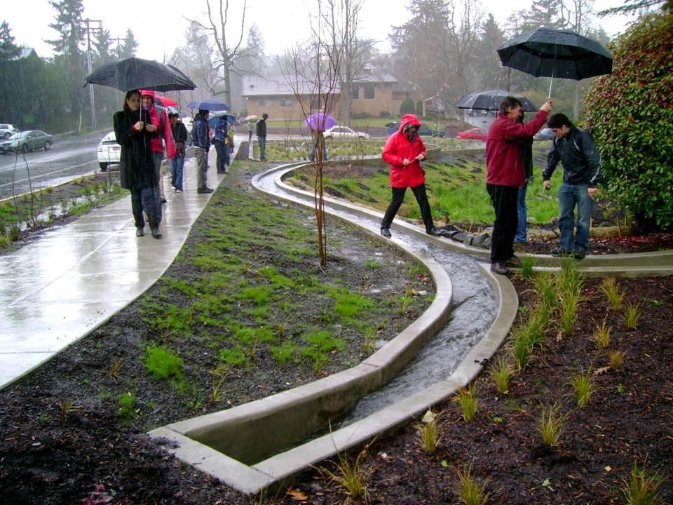 Stormwater Management Design : Green infrastructure